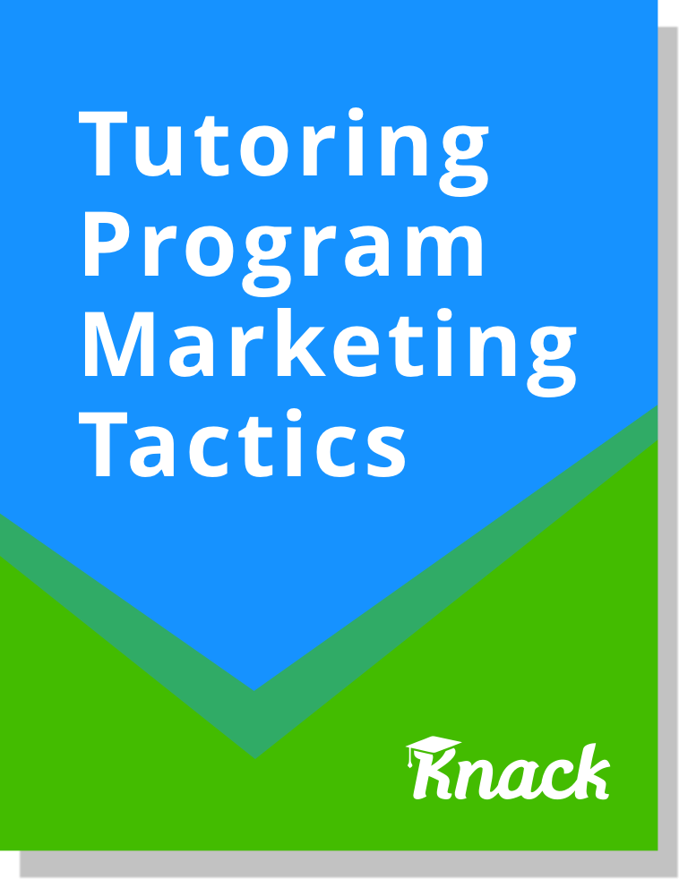 Tutoring Program Marketing Tactics